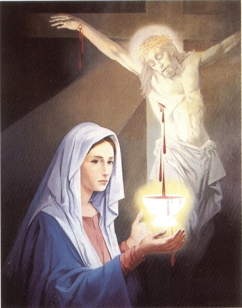 Preghiera della sera al preziosissimo sangue di ges - Stampabile la preghiera del signore ...
