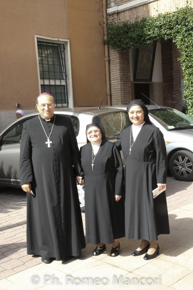 S. Ecc. Mons. Giuseppe Maciante Vescovo del settore Est Roma