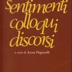 <b>Sentimenti, Colloqui, Discorsi.</b> Edizione Critica a cura di Sr. Anna Paganelli