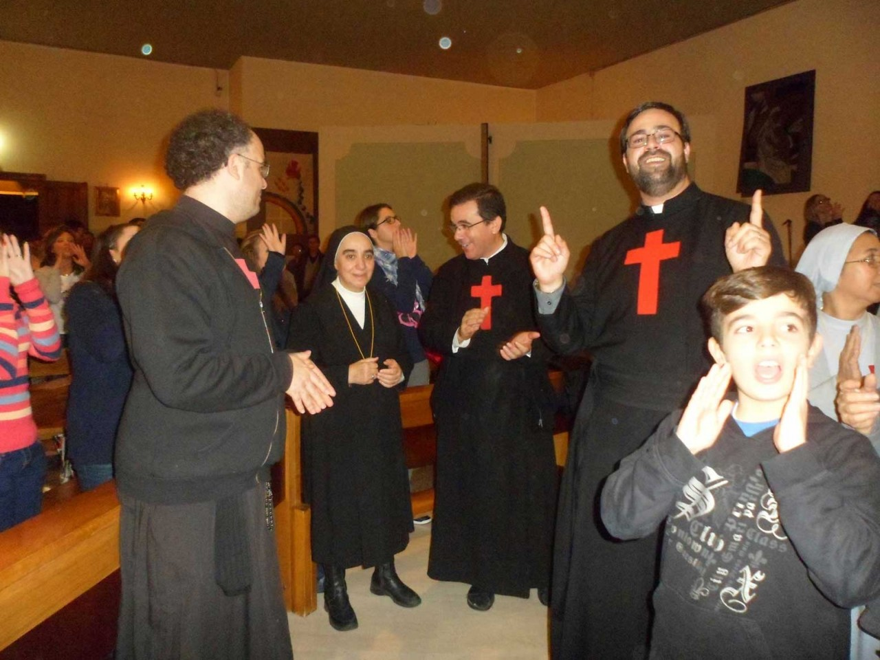 Accoglienza dei Missionari nella parrocchia