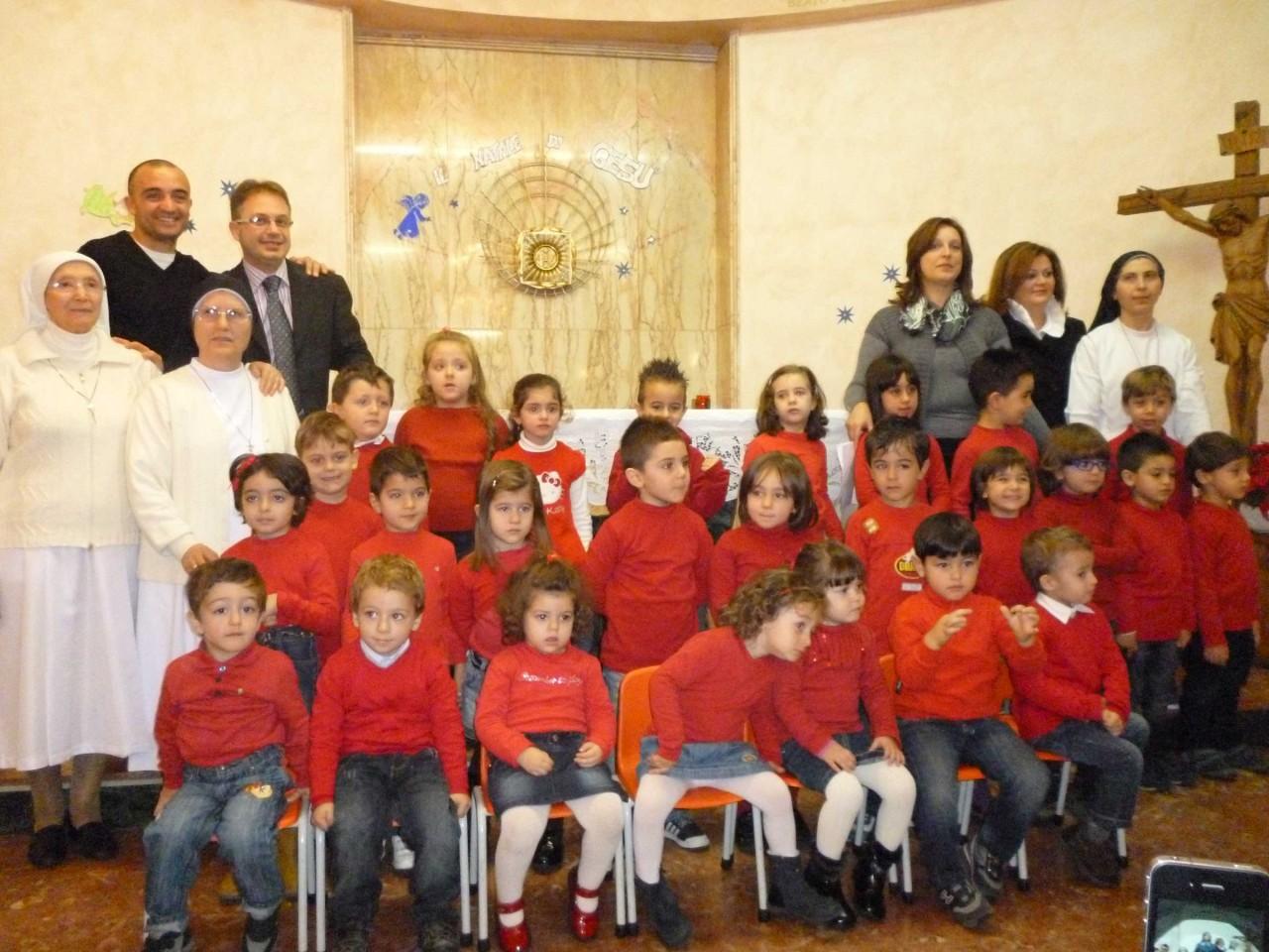Concerto di Natale dei bimbi della scuola materna